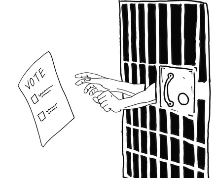 the right to vote for prisoners essay The push to let convicts vote is wrong on fact and on principle forty-eight states currently restrict the right of felons to vote most states forbid current inmates to vote, others extend such bans to parolees, and still others disenfranchise felons for life a movement to overturn these .