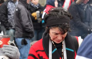 Supporters of Idle No More in Ottawa | January 11, 2013