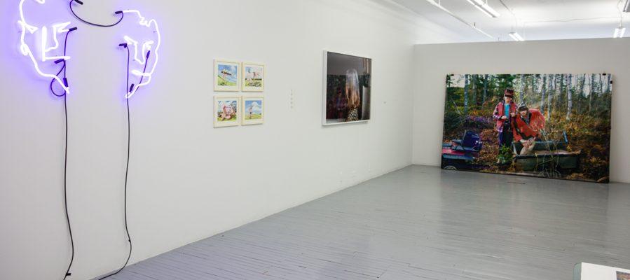 Interpretations of testosterone in Galerie Donald Browne's new exhibit.