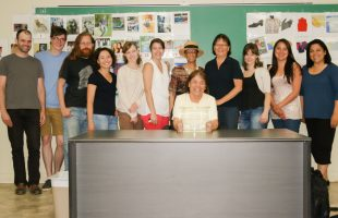 The Mi'gmaq Research Partnership team.