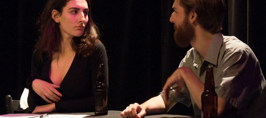 Ruby Iacobelli and Thoby King in TNC's Burning in Water, Drowning in Flame.