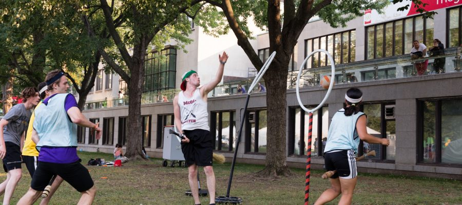 The McGill Quidditch team.