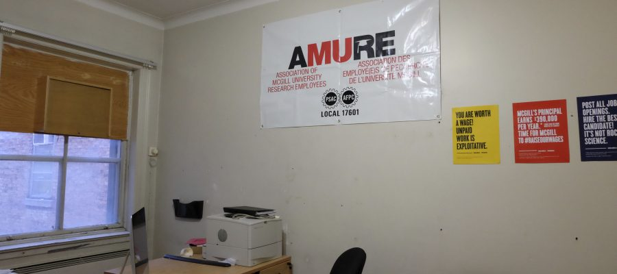 The AMURE office.