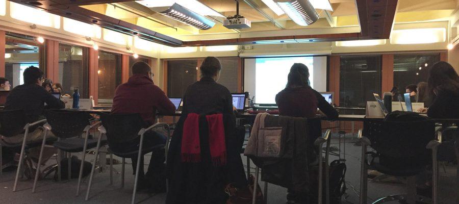 SSMU Council meeting.