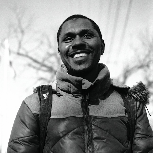 Mohammed Barry, campaigner for Guinean refugee rights and former Dollarama worker.